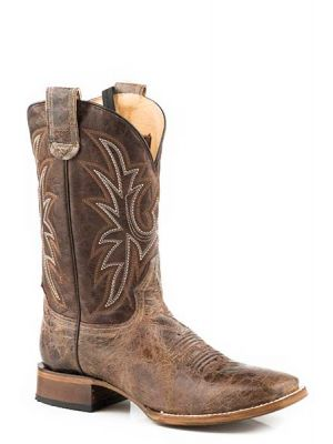 Roper Sidewinder Concealed Carry Brown Boot