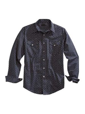 Tin Haul Aztec Geo Print Shirt