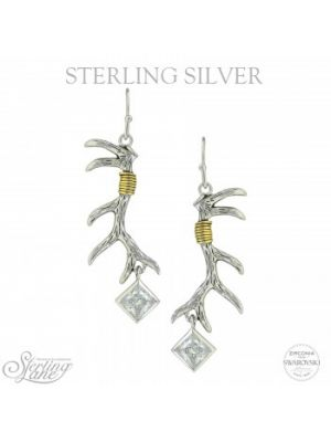 Montana Silversmiths Sterling Lane Nature's Art Earrings