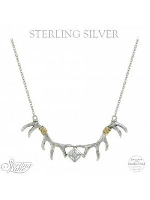 Montana Silversmiths Sterling Lane Nature's Art Necklace