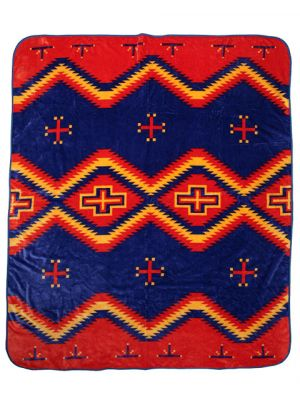 El Paso Saddleblanket El Cid Luxury Plush Queen Size Blanket
