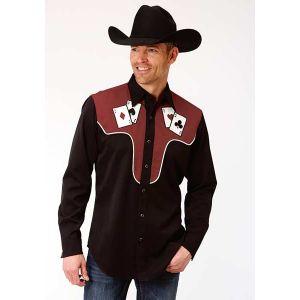 Roper Old West Cards Shirt