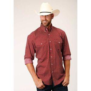 Roper Men's Amarillo Collection- American Blues Diamond in the Rough Shirt