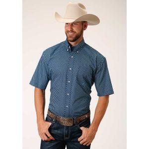 Roper Men's Amarillo Collection Lake Shore Shirt