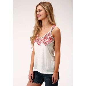 Roper Five Star Collection Embroidered Tank Top
