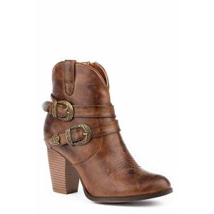 Roper Maybelle Brown Shorty Boot