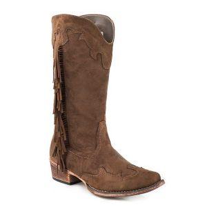 Roper Side Fringe Boot