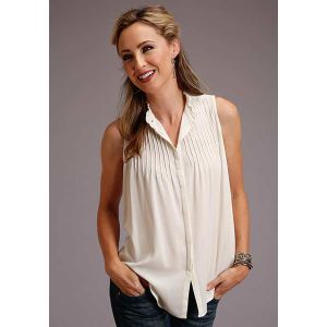 Stetson Ladies Collection Rayon Crepe Blouse