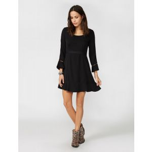 Stetson Women' Black Crepe Dress
