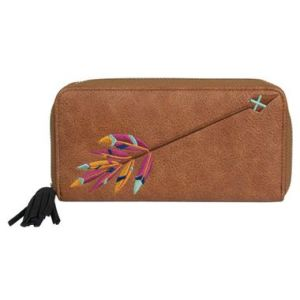 Catchfly Wallet with Arrow Embroidery