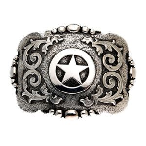 """And West """"Cabrillo"""" Vintage Texas star with etching and scrolls"""