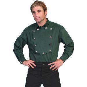 WahMaker Brushed Twill Bib Shirt