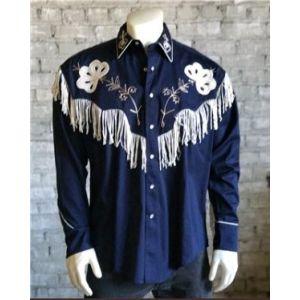 Rockmount Vintage Fringe Embroidered Western Shirt