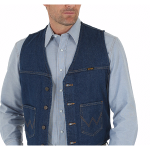 Wrangler Unlined Denim Vest