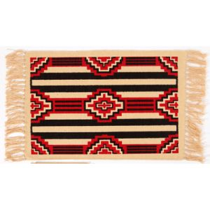 El Paso Saddleblanket Cotton Stencil Placemat- Southwest Design (Assorted Styles)