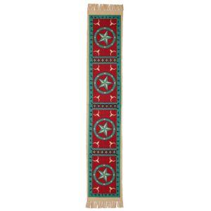 El Paso Saddleblanket Cotton Stenciled Table Runner (Assorted Styles)
