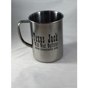 Texas Jack Tin Mug