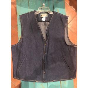 COWS Men's Denim Conceal Carry Vest