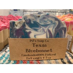 PJ's Soap Company Texas Bluebonnet Soap