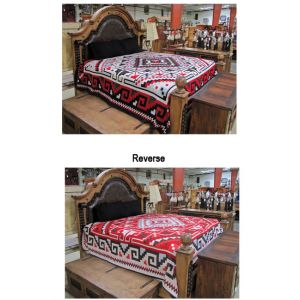 El Paso Saddleblanket Luxury Southwest Queen Bedspread (Assorted Styles)