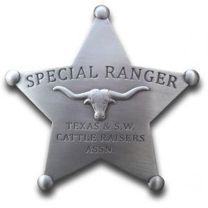 Special Ranger Texas & SW Cattle Raisers Association Badge