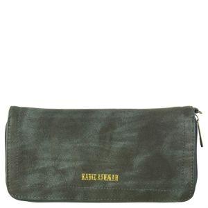 Kadie Ashman Navy Wristlet Zipper Wallet