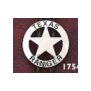Texas Ranger Silver Bolo