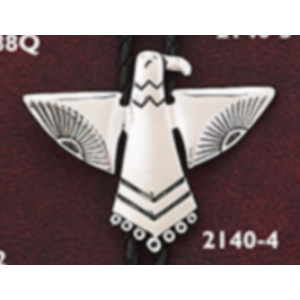 Bolo Native Eagle Silver