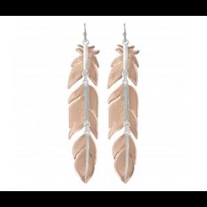 Montana Silversmiths Sunlit Plume Feather Earrings