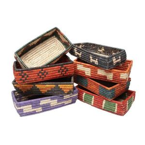 El Paso Saddleblanket Small Tray Baskets