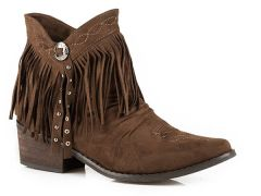 Roper Fringe Shorty with Concho & Studs