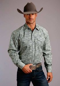 Stetson Tooling Paisley Shirt