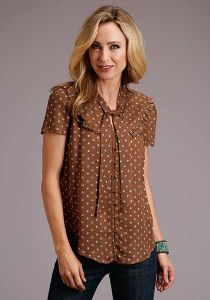 Stetson Ladies Collection Twill Blouse