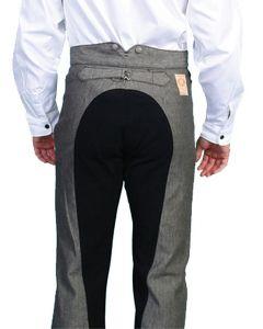 WahMaker Raised Dobby Stripe w/ Solid Seat Pants