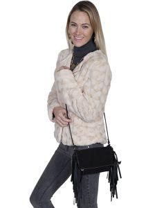Scully Suede Fringe Handbag