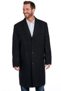 Cripple Creek Wool Melton Overcoat with Conceal Carry Pocket