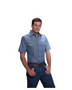 Ely Chambray Short Sleeve Shirt