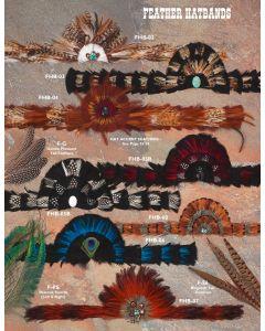 Feather Hatbands