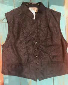 COWS Ladies Floral Vest
