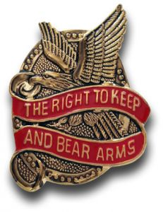 2nd Amendment - Right to Keep and Bear Arms Hat Pin