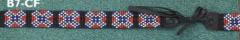 Confederate Beaded Hat Bands