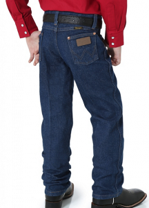 Wrangler Toddler's and Boy's Prewashed Cowboy Cut Original Fit Jean in Prewashed Indigo