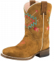 Roper Girl's Aztec Embroidered Boots