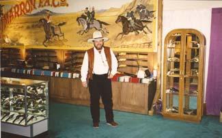 Charles Hudson at Shot Show 1998 in Las Vegas