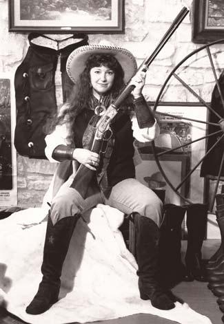 Mary Lou at Texas Jack 1993